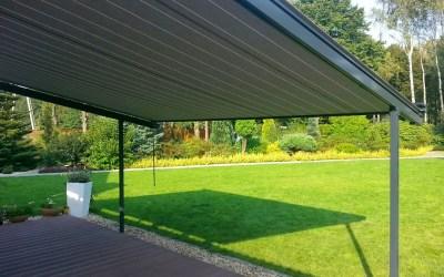 Stobag Pergolino – recepta na nisko schodzący dach