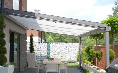 Dach szklany VETRO – metamorfoza niewielkiego ogrodu