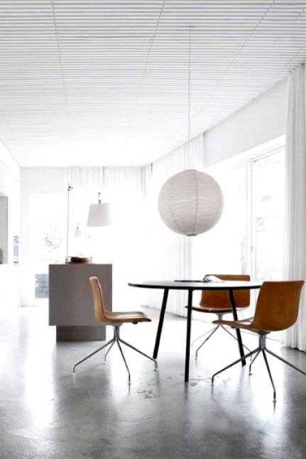 concrete dining