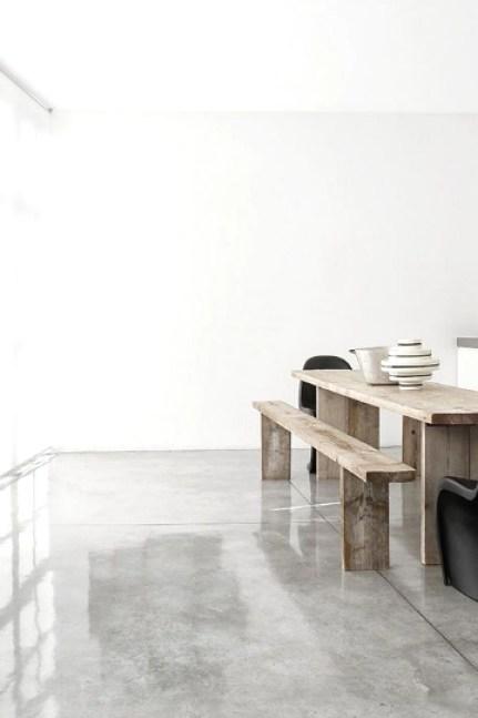 concrete polished floor