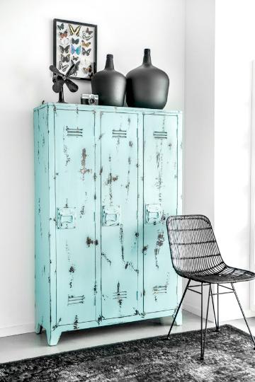 turquoise lockers