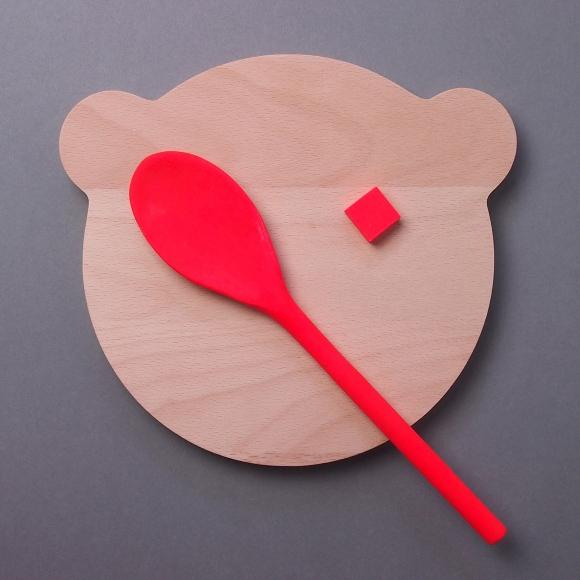 bear chopping board