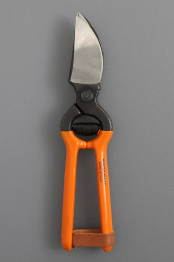 SECATEURS ORANGE HANDLE labour & wait