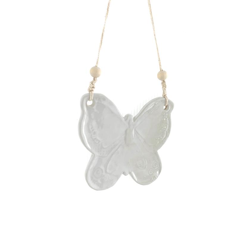whitebutterflywallhanging