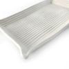 White vanity tray