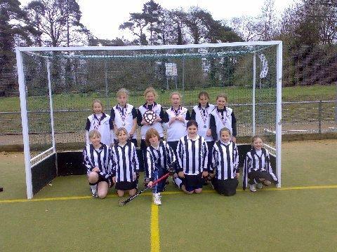 U11 Girls Watton Minis, March 2008