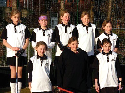 U11 Girls Norfolk Championships 2008