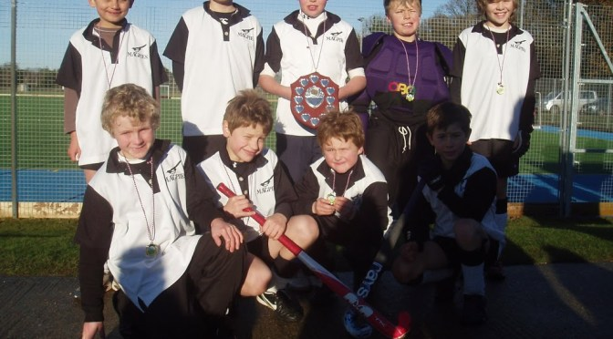 Under 11 Boys win Rudds Tournament