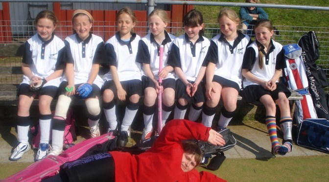 Under 11 Girls at Dereham Tournament