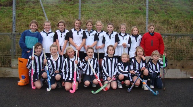 Under 11 Girls at Magpies Tournament