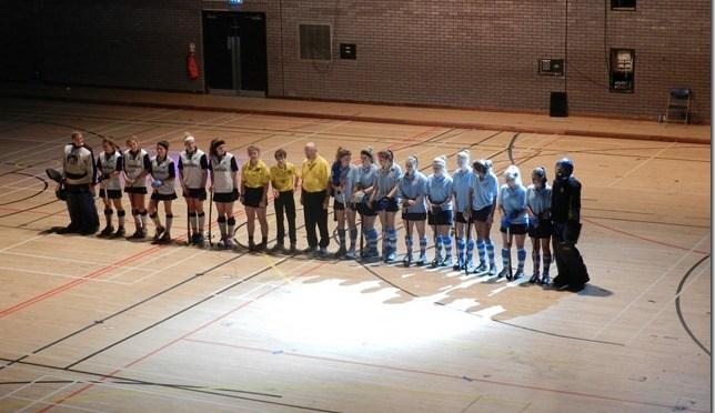 Magpies U18 girls at Brentwood