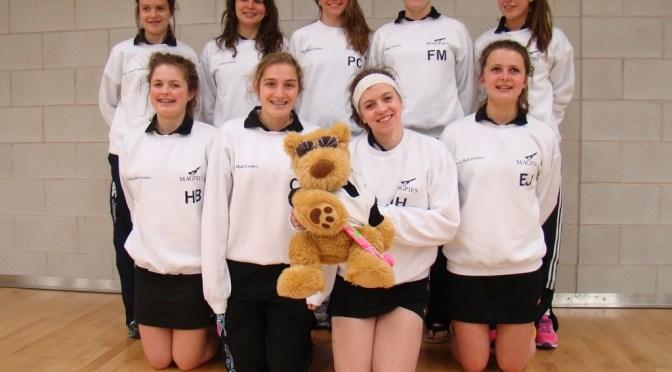 Under 18 Girls at Indoor Nationals