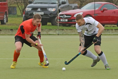 James Meek in action against St Albans Photo courtesy of Pat Leate