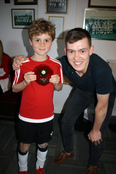 U10 Most Improved Boy