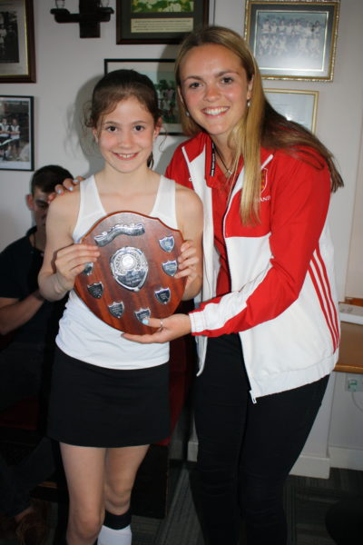 U10 Player of the Season Girl