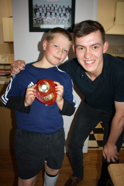 U11 Most Improved Boy