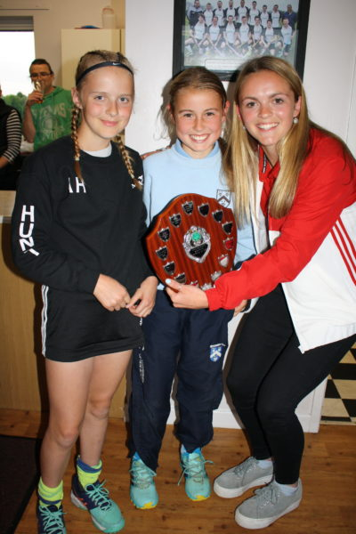 U11 Players of the Season Girls