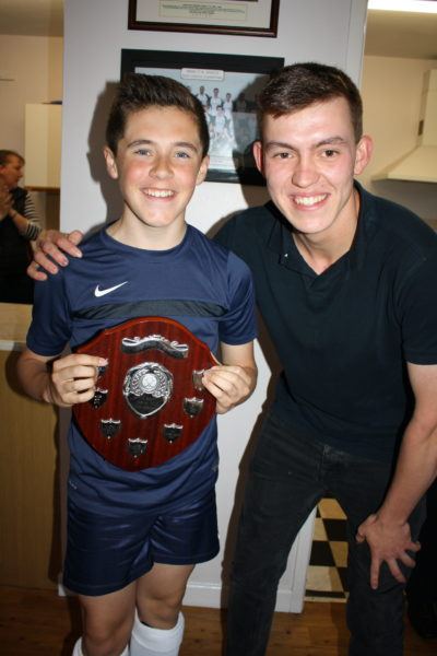 U12 Player of Season Boy