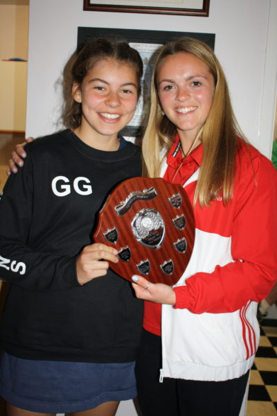 U14 Player of Season Girl
