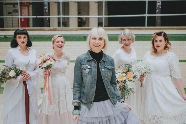 Kate Beavis at Magpie Wedding Show