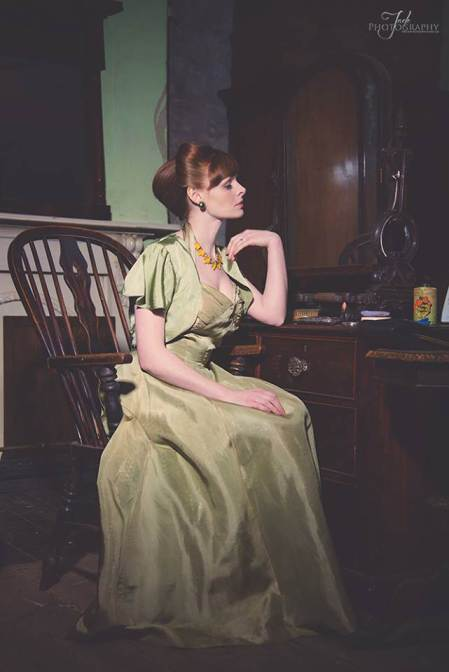 30's vintage dress