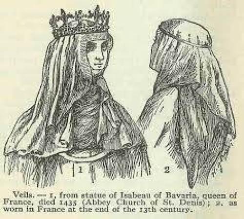wedding veil 1 via National Vintage Wedding Fair