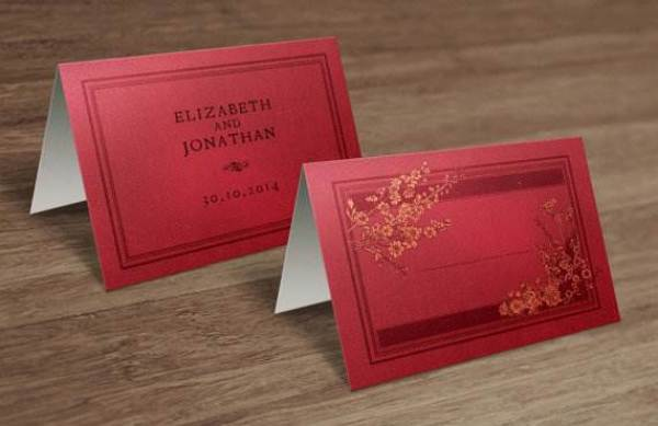 Etsy vintage book style print at home name place cards via the National Vintage Wedding Fair blog