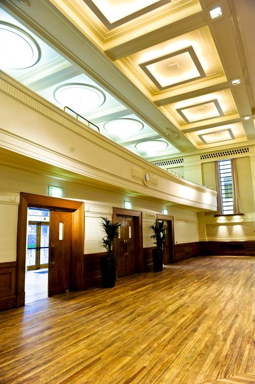 Stoke Newington Town Hall East London Art Deco Wedding Venue