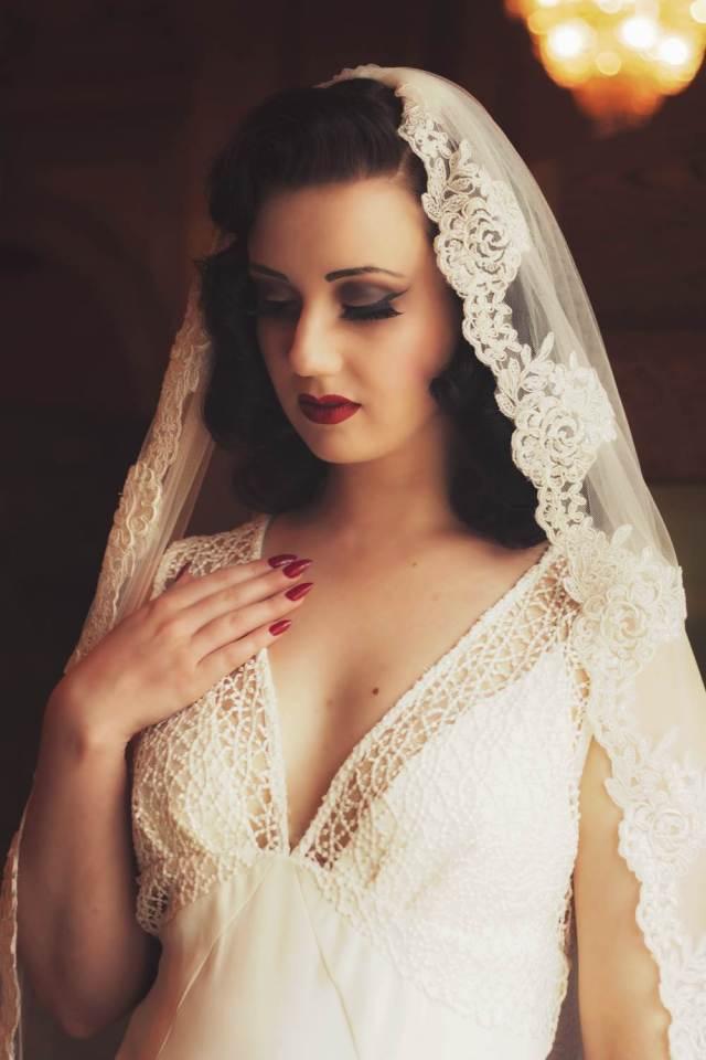 1930s Pinewood Studios Wedding Shoot via National Vintage Wedding Fair
