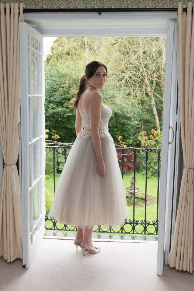 Vintage Wedding Dress from Hopelessly Devoted at the National Vintage Wedding Fair
