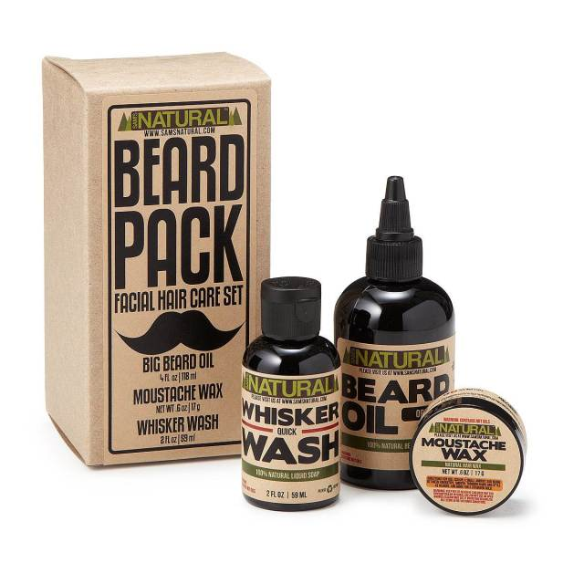 Uncommon Goods Beard pack - Gifts for the Groom as featured on The National Vintage Wedding Fair blog