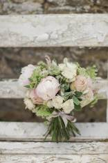Wedding flowers photographed by Marianne Taylor as featured on The National Vintage Wedding Fair blog