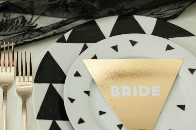A Vintage New Romantic 1980s wedding