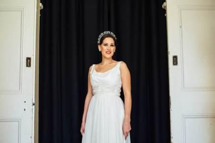 Chiswick London National Vintage Wedding Fair photos by Matilda Delves featuring vintage wedding dresses
