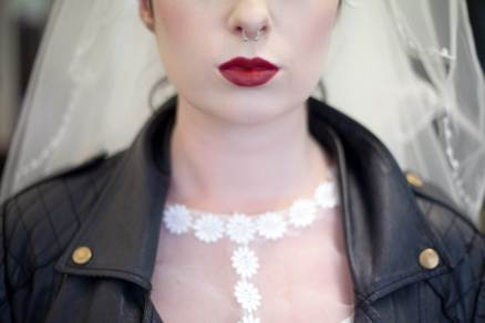 A vintage rockabilly bride wedding styled shoot in Bristol by Heartfelt Vintage