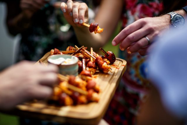 Wedding Food Ideas for your creative day