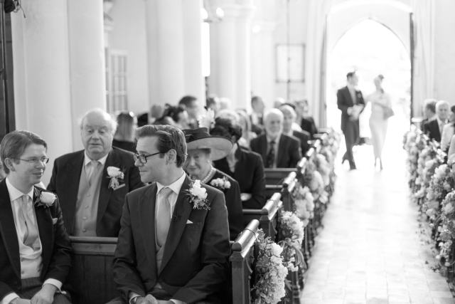 An Enchanting and Romantic Newton Hall Wedding with an Art Deco Temperley Dress
