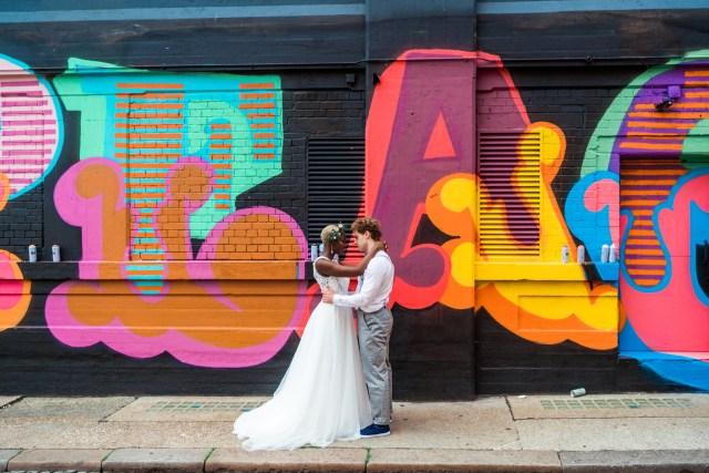Cool Urban City Wedding Inspiration with Sassy Shoreditch Style