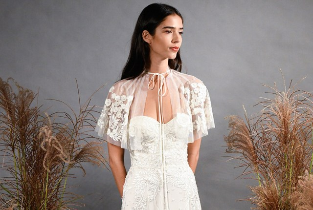 Trend Report - The Bridal Cape