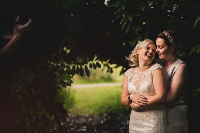 Modern DIY Wedding at Theobolds Estate with A Dress A Jumpsuit and Lots of Personal Touches