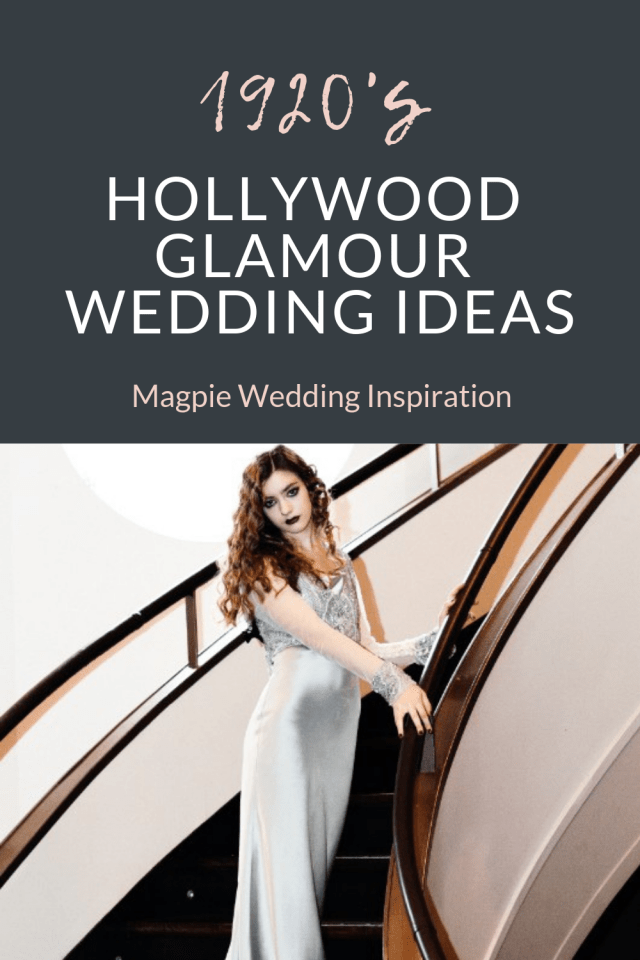 Hollywood Glamour Wedding with Vintage Dresses and Beaded Capes