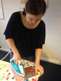 alina ironing