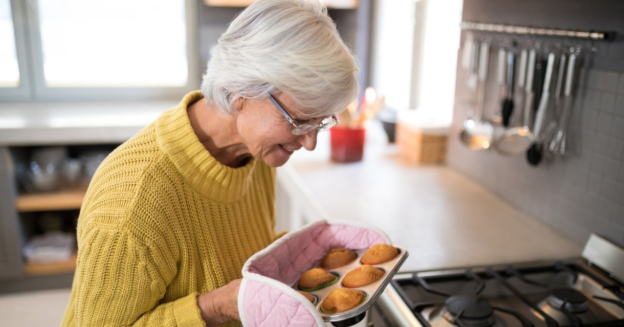 cuidados com idosos no domicílio também incluem a cozinha