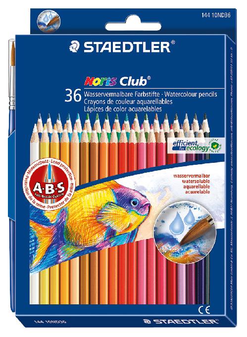 Staedtler Watercolor Pencils Box Of 36