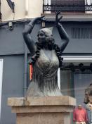 Flamenco statue
