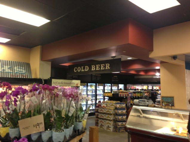 After months of construction, the local Giant Eagle now has a beer section. So there's one redeeming quality.