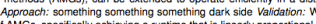 A line from my thesis proposal. I think works well, don't you?