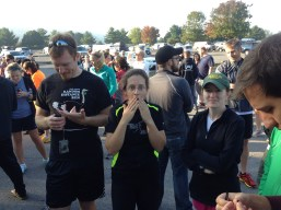 Just before the Ragnar DC relay, 2012.