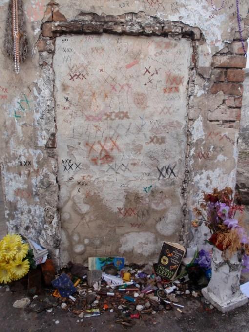 Marie Laveau's Grave in New Orleans