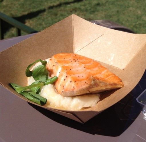 Scottish Salmon at Epcot